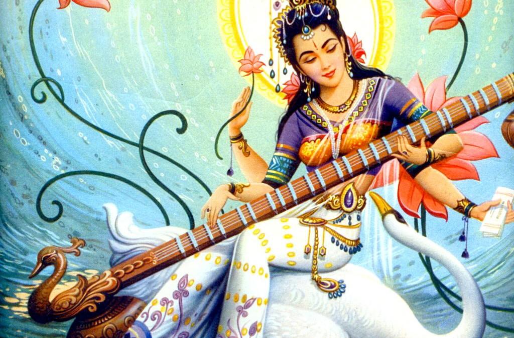 Om Aim Saraswatye Namaha