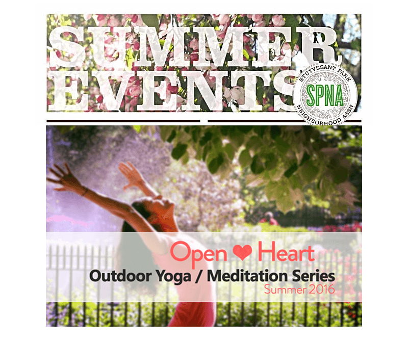 Announcing… Outdoor Yoga & Meditation classes